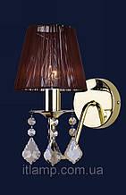 Настенные светильники с абажуром Levistella 720W4001GD-1GD BROWN