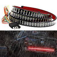 Светодиодная полоса на багажник, стоп + поворот + задний ход, 12 В, 120 см