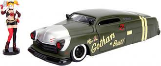 Машина металлическая Jada Харли Квин Mercury (1951) + фигурка 1:24 (253255005)