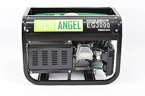Генератор бензиновый Iron Angel EG 3000 (2,8кВт), фото 3