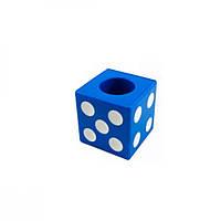 """Подставка для ручек """"Klerk"""" KL0983 """"Кубик"""" синяя, 605234"""