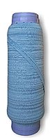 Резинка бельевая ажурная голубой, резинка для трусов 10 мм намотка 50 метров