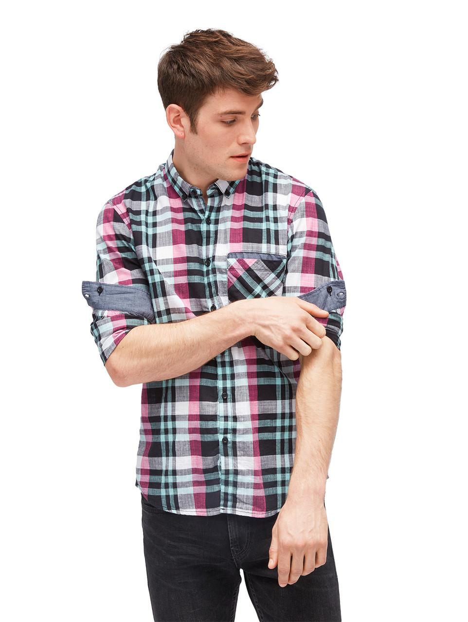 Рубашка Tom Tailor 1003306 M Разноцветный