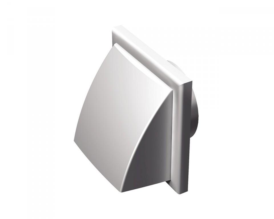 Вентс МВ 152 ВК (серый). Пластиковый наружный колпак