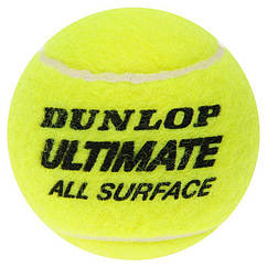 Теннисные мячи Dunlop Ultimate All Surface 4 ball 8489, КОД: 1552639