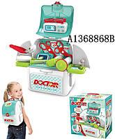 Набор Доктора, стол складывается в чемодан, медицинские инструменты, 008-965