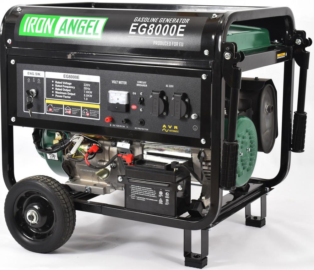 Генератор бензиновий Iron Angel EG 8000 E (8кВт)