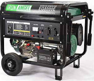 Генератор бензиновий Iron Angel EG 8000 E (8кВт), фото 2