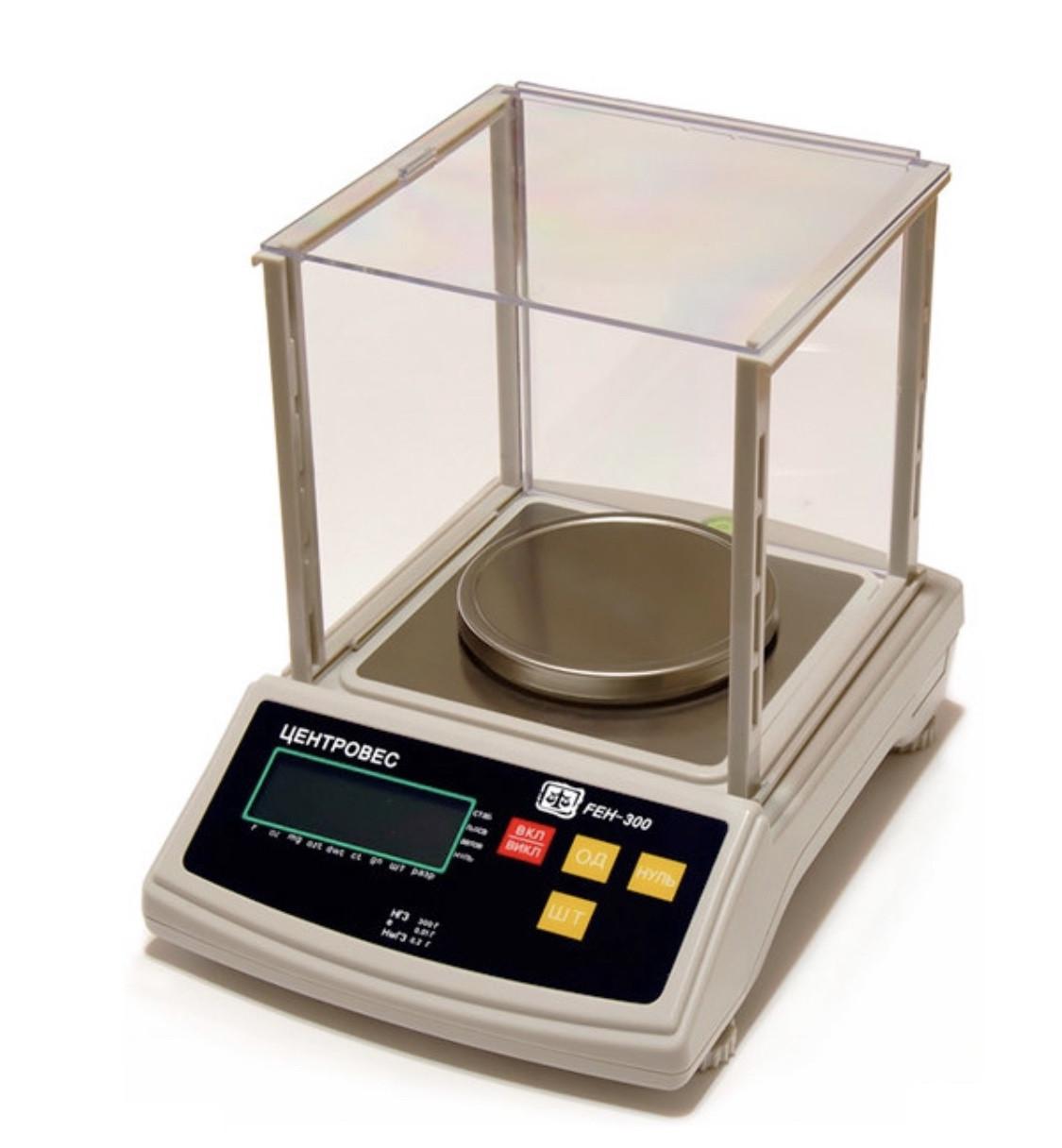 Весы лабораторные «Центровес» FEH-600 (600 г, 0,01 г)