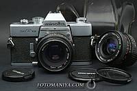 Minolta srT101 kit Minolta MD 50mm f1.7 + Five Star MC 28mm f2.8, фото 1