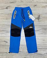 Стрейчеві джинси утеплені на флісі для дівчаток з лампасами,розміри 158 див. GRACE .Угорщина