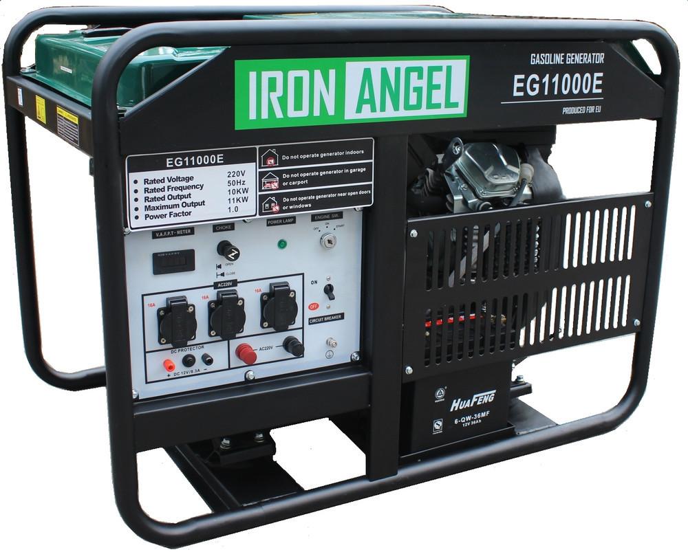Генератор бензиновий Iron Angel EG 11000 E (11кВт)