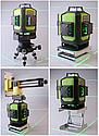 Профессиональный лазерный уровень 4D Fukuda MW-94D-4GJ 16 линий для стяжки, фото 9