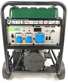 Генератор бензиновый Iron Angel EG12000EAO (11 кВт, подготовка под ATS)