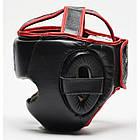 Боксерский шлем Leone Full Cover Black L, фото 3