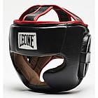 Боксерский шлем Leone Full Cover Black L, фото 4