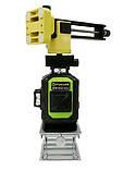 Профессиональный лазерный уровень 4D Fukuda MW-94D-4GJ 16 линий для стяжки, фото 2