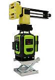 Профессиональный лазерный уровень 4D Fukuda MW-94D-4GJ 16 линий для стяжки, фото 5
