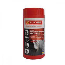 Серветки для очищення моніторів BuroMAX BM0802, 99418