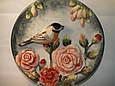 Декоративна тарілка Птиці 20 см 59-336, фото 2