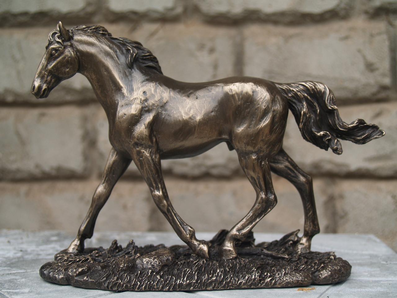 Статуетка Veronese Біжить кінь 14 см 76064 A1