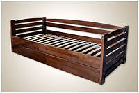 Деревянная кровать Мини (массив бука) Карпаты