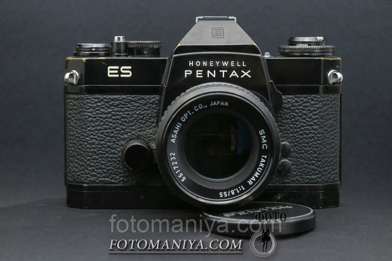 Pentax ES kit SMC Takumar 55mm f1.8