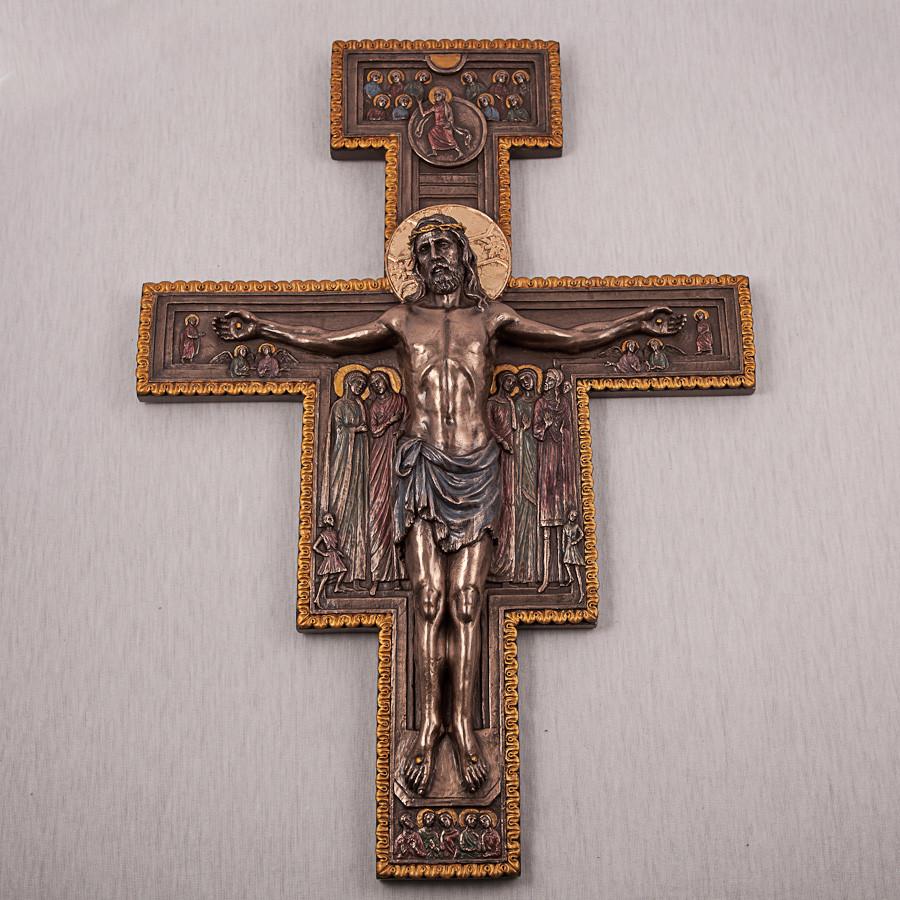 Хрест на стіну Розп'яття Христа 40 см 75880
