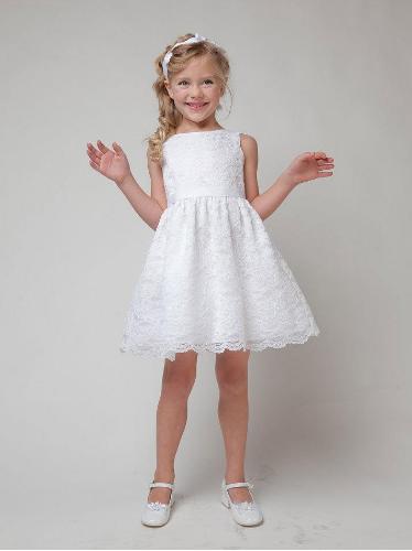 Детское ажурное платье  120