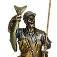 Статуетка Veronese Рибак з уловом 29 см 71125, фото 6