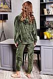 1661/7 Жіноча велюрова піжама різні кольори, фото 9