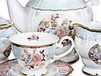 Чайний набір Lefard Ніжна троянда на 15 предметів 586-322, фото 2