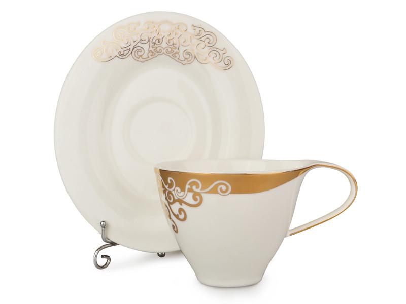 Чайний набір Lefard Золотий візерунок на 12 предметів 586-030
