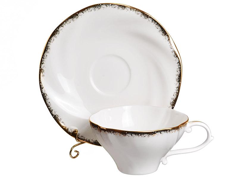 Чайний набір Lefard Золота хвиля на 12 предметів 264-016