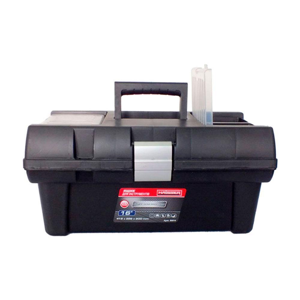 "Ящик для инструментов 16"" Staff Semi Profi Alu 415х226х200 Haisser 90014"