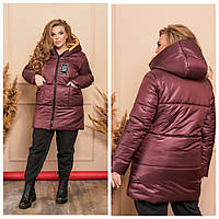 Куртка женская батал до 60, фото 1