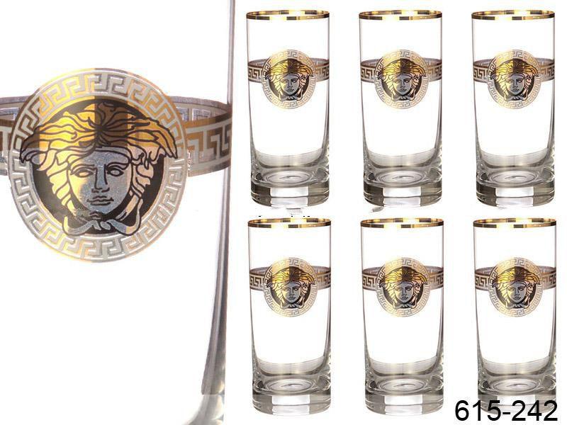 Набір склянок для води Nb Art Медуза 6 штук 615-242