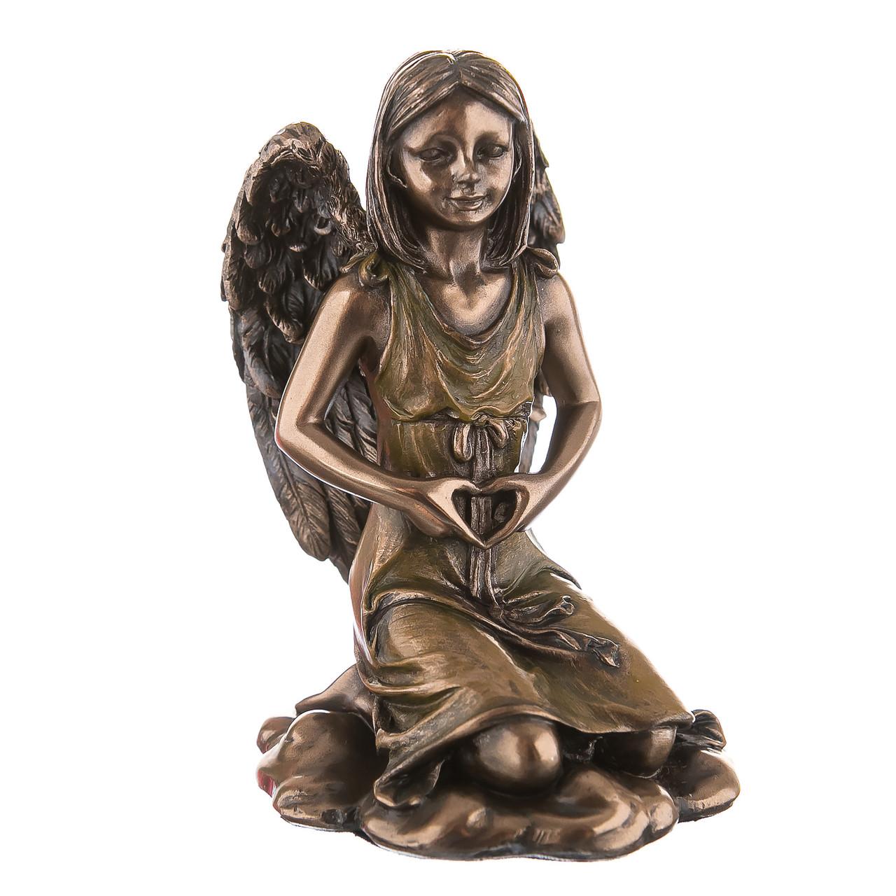 Статуетка Veronese Дівчинка ангел 10 см 70728A4