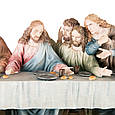Статуетка Veronese Таємна вечеря 71 см полістоун, фото 2