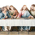 Статуетка Veronese Таємна вечеря 71 см полістоун, фото 3