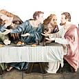 Статуетка Veronese Таємна вечеря 71 см полістоун, фото 4