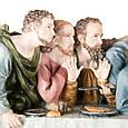 Статуетка Veronese Таємна вечеря 71 см полістоун, фото 5