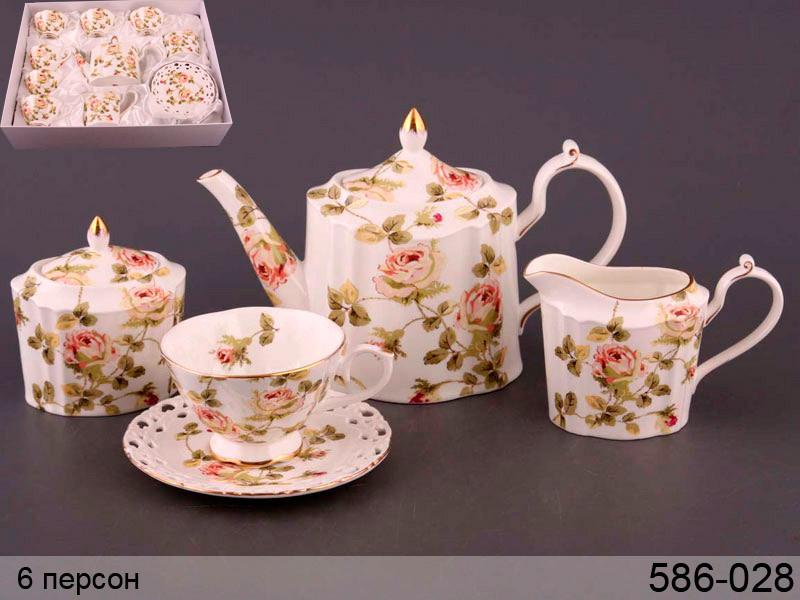 Чайний набір Lefard Емма на 15 предметів 586-028