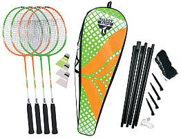 Набор для бадминтона Talbot Torro Badminton Set 4 Attacker Plus 9791, КОД: 1673534
