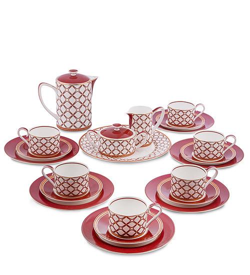 Чайний сервіз Pavone Елегантність 22 предмета 1451467