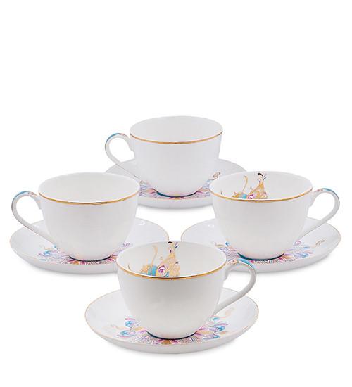 Чайний сервіз Pavone 8 предметів 1451474