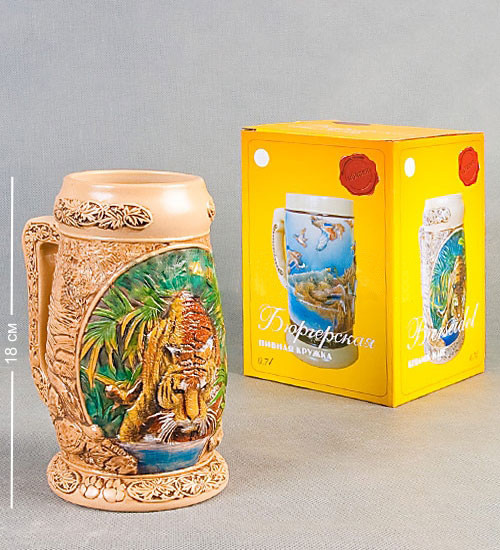 Пивний кухоль Бюргерская Тигр 720 мл 110536