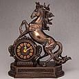 Годинники настільні Veronese Кінь Скакун 32 см 76235, фото 2
