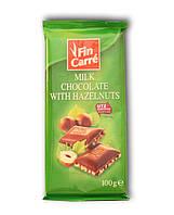Шоколад из Италии с орехами Fin Carre 100г