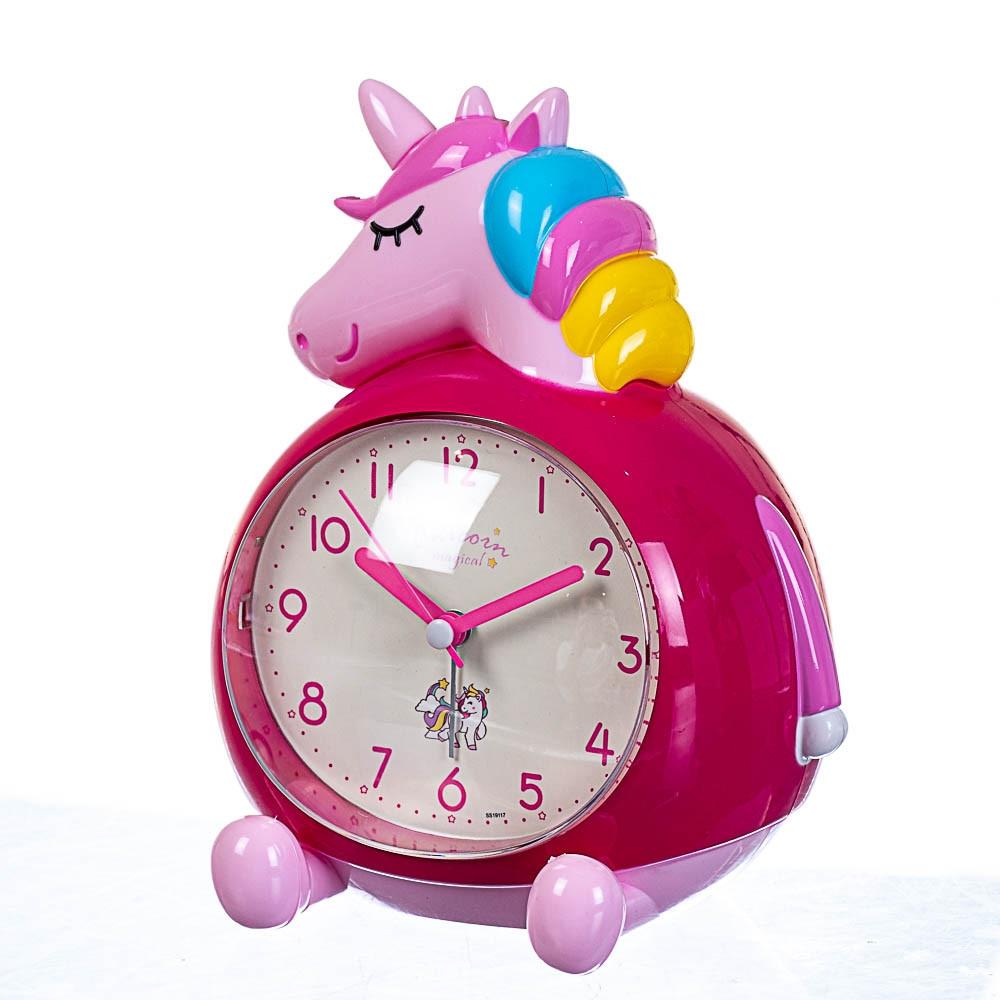 Годинник будильник Lefard Єдиноріг 14х18х11 см 12008-003-B